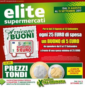Volantino Elite offerte e promozioni