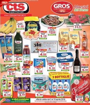 Volantino CTS Supermercati offerte e promozioni