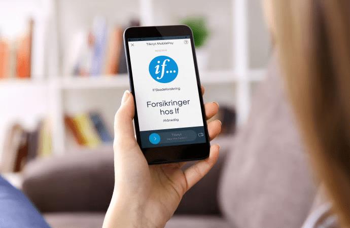 If åbner for MobilePay til forsikringskøb