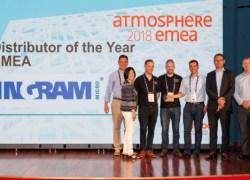 Ingram Micro blev udnævnt til Årets Distributør i Aruba Atmosphere