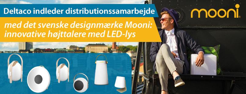 Deltaco indleder distributionssamarbejde med Mooni!