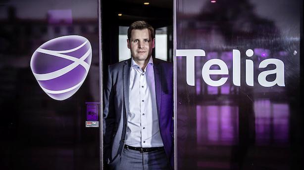 Telia Danmark- Kommentar til regnskab