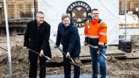 Visma tager første spadestik til nyt domicil i Carlsberg Byen
