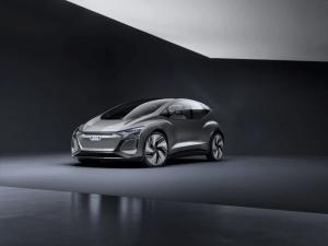 Audi AI:ME konceptbil er automatiseret kørsel til megabyer 1