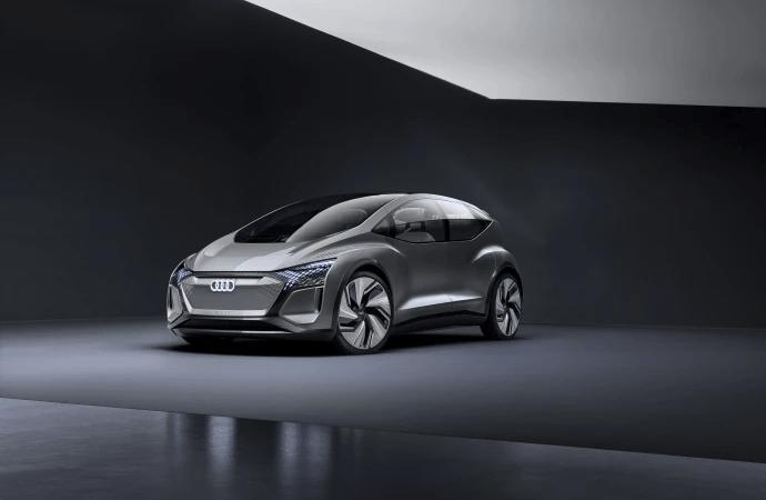 Audi AI:ME konceptbil er automatiseret kørsel til megabyer
