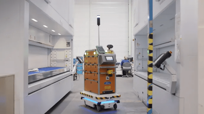 Fords selvkørende robot letter arbejdsgangen