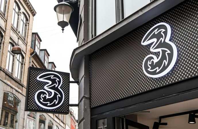 3 åbner ny butik i Esbjerg