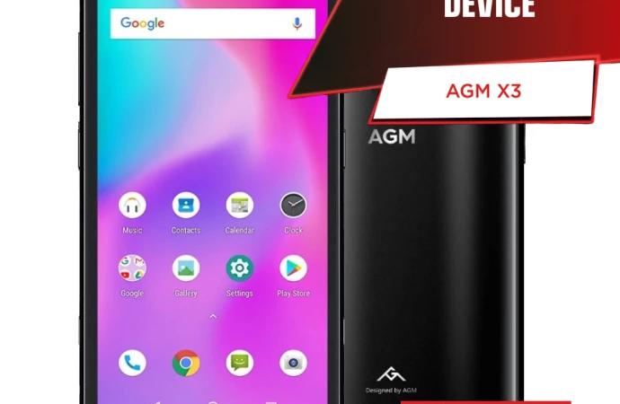"""AGM X3 – Kåret til den bedste """"robuste"""" smartphone"""