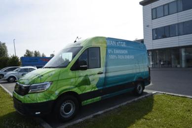 MAN sætter skub i grøn udvikling: Lancerer konkurrencedygtige priser på den elektriske varebil – MAN eTGE 1