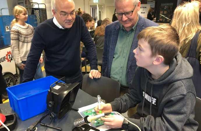 Officiel åbning af e-sportcenter og makerspace på TEC