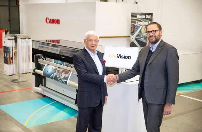 Canon & Onevision – Et win-win partnerskab for produktiviteten