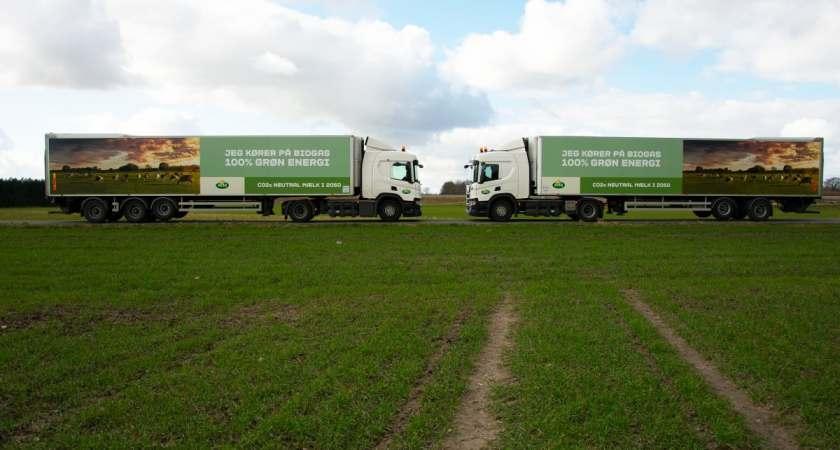 Stigende interesse for biogaslastbiler