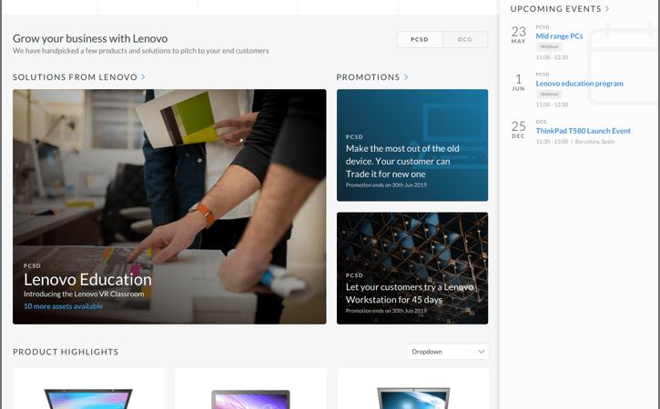 Lenovo lancerer ny global partner hub, som tilbyder personaliserede salgsværktøjer til Lenovos partnere