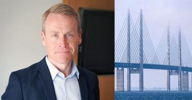 Linus Eriksson blir ny vd för Øresundsbron 1