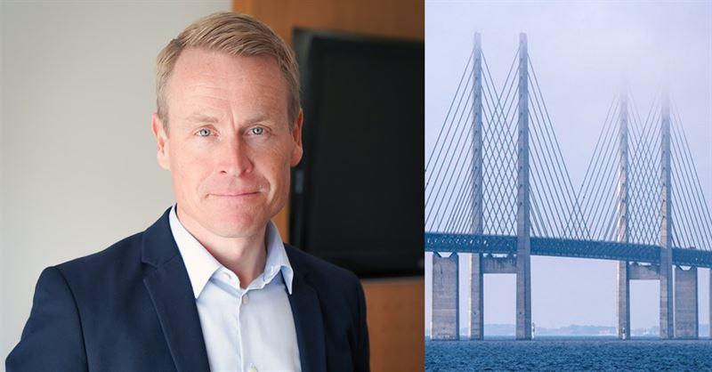 Linus Eriksson blir ny vd för Øresundsbron