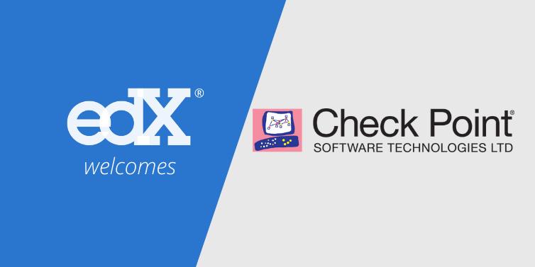 Check Point indgår partnerskab med edX, der er grundlagt af Harvard og MIT