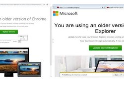 Professionelt udført svindel på internettet – computeren overtages via falsk opdatering