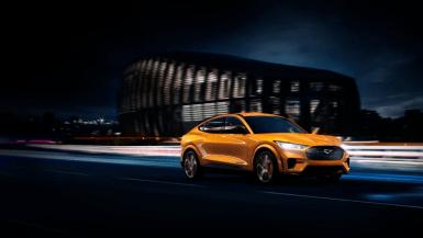 Ingen i klassen er hurtigere end Mustang Mach-E GT 1