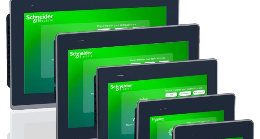 Ny serie HMI-paneler fra Schneider Electric