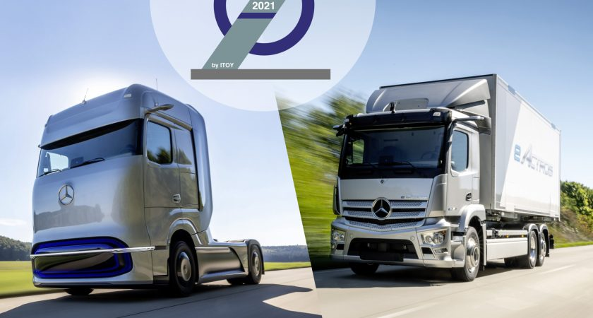Mercedes-Benz eActros og GenH2 vinder innovationspris