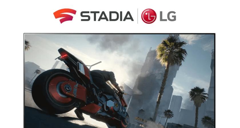 LG's smart-fjernsyn får gamingtjenesten Stadia i 2021