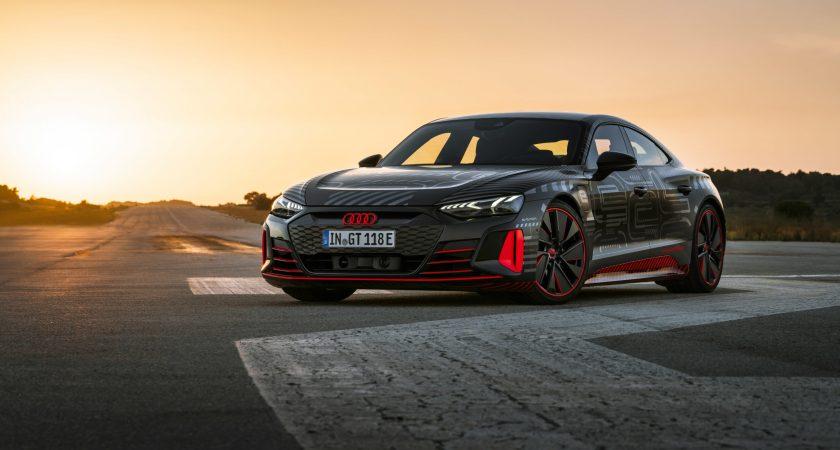 Verdenspremiere på Audi e-tron GT – 9. februar kl. 19