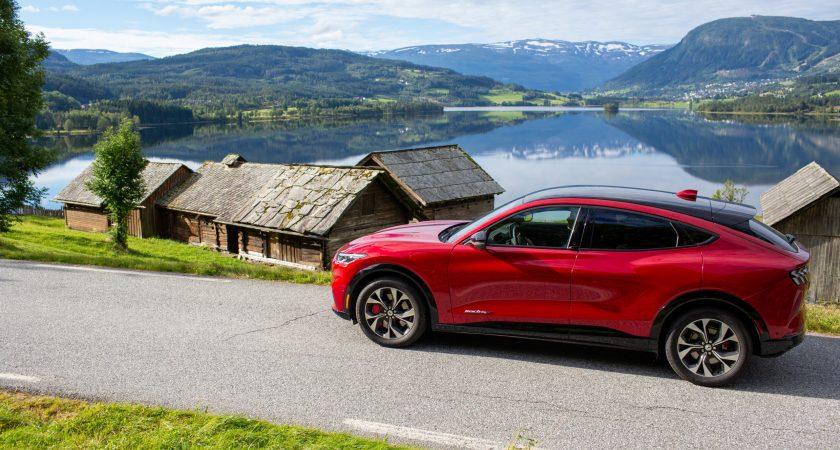 Ny Ford Mustang Mach-E – elbil til under 400.000 kroner