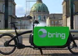 Nu leverer Bring endnu grønnere hjem til flere e-handelskunder i de større danske byer