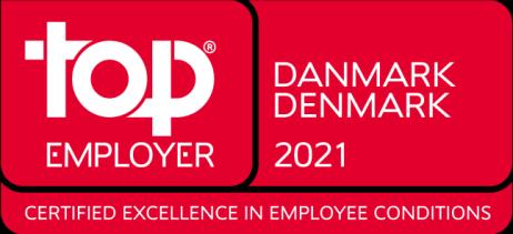 TCS får udmærkelsen Top Employer i Danmark