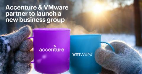 Accenture og VMware lancerer ny forretningsenhed, der gør rejsen til skyen nemmere