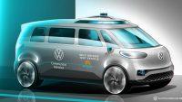 Volkswagen Erhversbiler fortsætter udviklingen af selvkørende biler til mobility-services