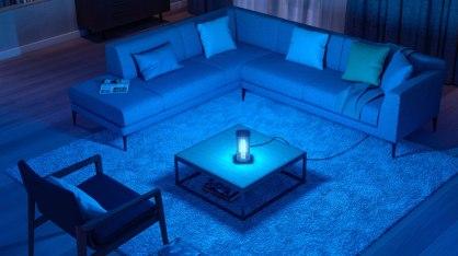 UV-C-bordlampen desinficerer enkelt og sikkert