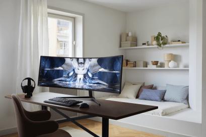 Samsung præsenterer den nye spilskærm Odyssey Neo G9