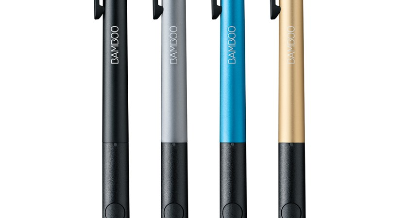 Wacom lanserar idag flera nya Bamboo-pennor på IFA Berlin 2015