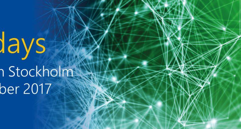TechDays är Microsofts största konferens i Sverige för IT tekniker, utvecklare och IT-chefer.