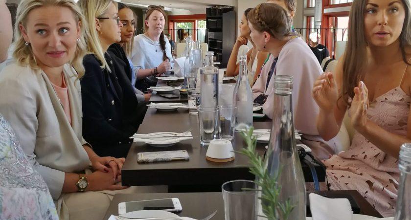 Q Rendezvous bjöd in till lunch på Almedalsveckan