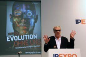 Talare på IP Expo - Robotarna tar över 1
