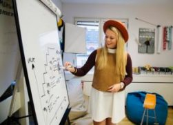 Innovationsexperten lever som hon lär 1