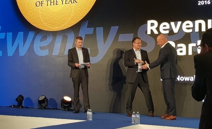 Infotheek vinner Candefero Channel Partner Award