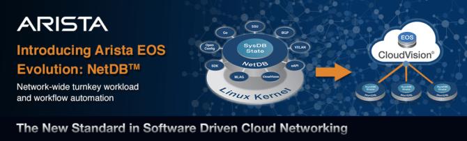Arista lanserar plattform för hybrida molnlösningar