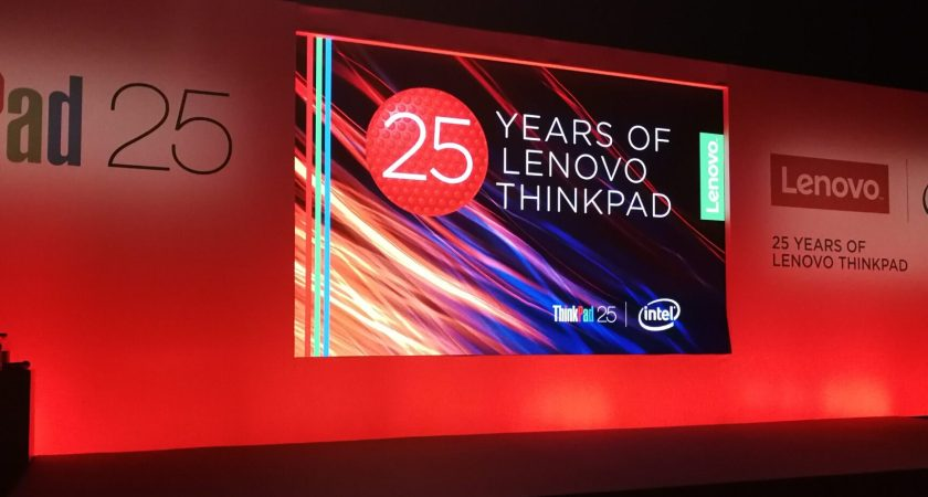 "Lenovo ""Partnerevent – Thinkpad 25 år"""