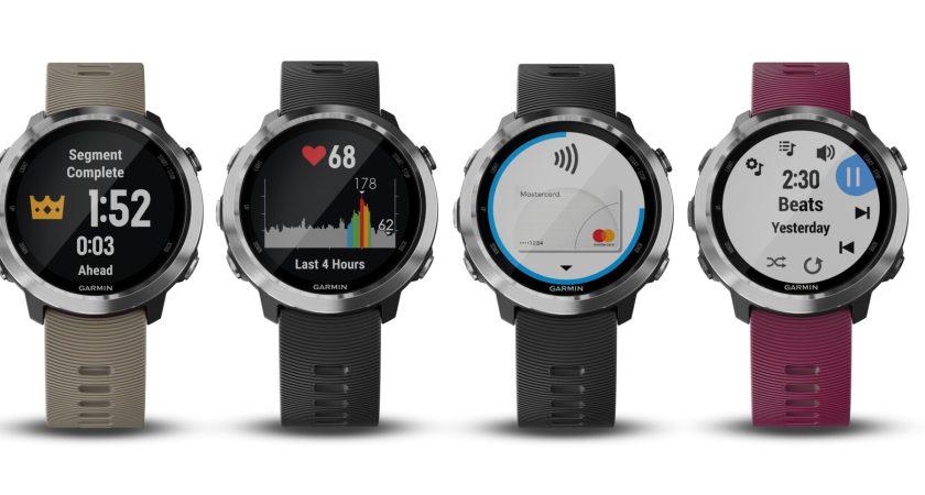 Garmin presenterar Forerunner 645 Music – en löparklocka med GPS, integrerad musik och Garmin Pay