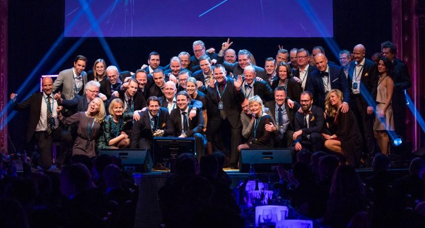 Hewlett Packard Enterprise & HP presenterar vinnarna av Guldmyran 2017