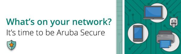 Välkommen till Aruba Network Security Summit den 6 Mars på Nordic Light Hotell, Stockholm