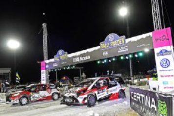 Rally-VM på HiQ Arena 1