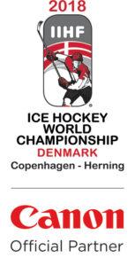 Canon sponsrar VM i ishockey 2018 1