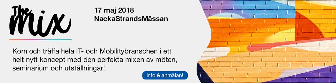 """Välkommen till vårt återförsäljarevent """"The mix"""" på Nacka Strandmässan 1"""