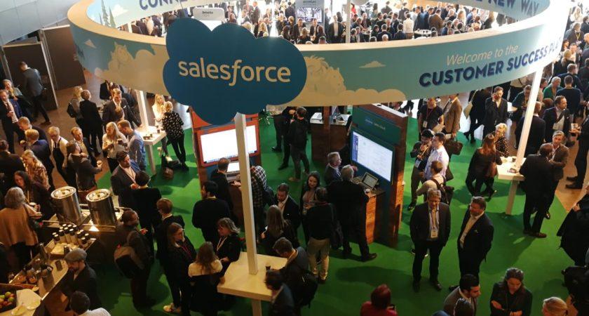 Stor publik på Salesforce konferens i Stockholm