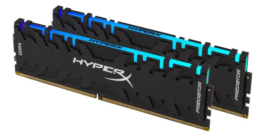HyperX:s senaste tillskott – Predator DDR4 RGB med Infrared Sync Technology   Stockholm