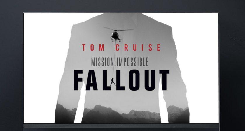 Den svenska galapremiären av Mission: Impossible – Fallout får knivskarp bildskärpa